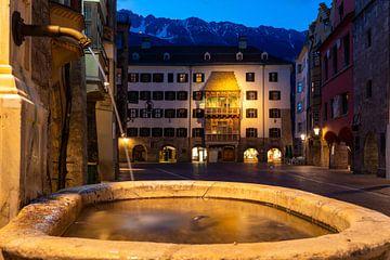 Innsbruck 's nachts van Sandra Schönherr