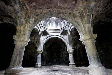 10e eeuwse kerk van de Heilige Verlosser in Armenie van