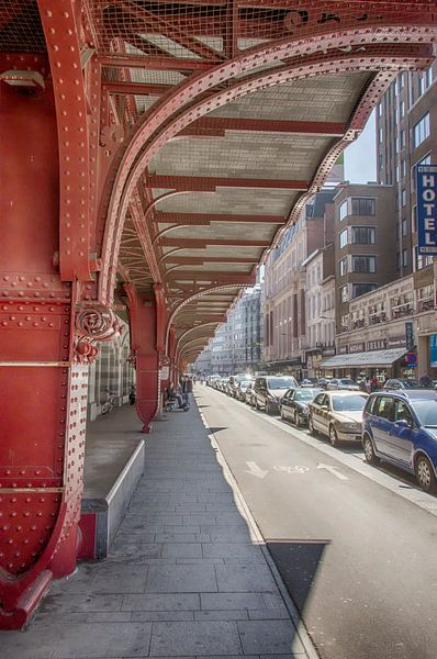 Pelikaanstraat in Antwerpen. van Don Fonzarelli