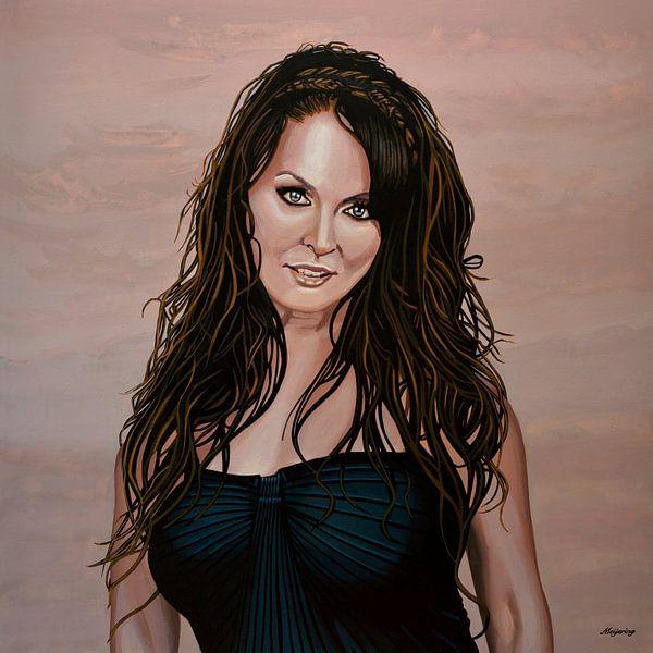 Sarah Brightman Schilderij