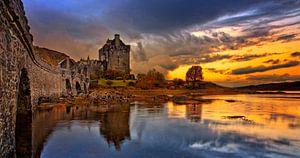 Eilean Don Castle in Dornie Scotland