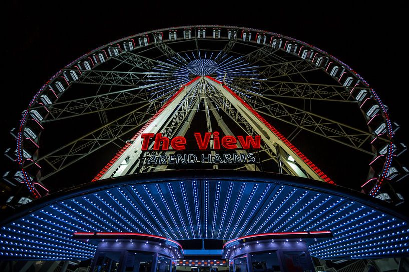 "Reuzenrad ""The View"" in Rotterdam van MS Fotografie | Marc van der Stelt"