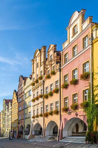 JELENIA GÓRA Baroque Tenement Houses with Arcades