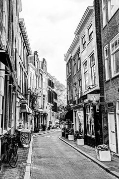 Binnenstad van Den Haag Nederland Zwart-Wit van Hendrik-Jan Kornelis