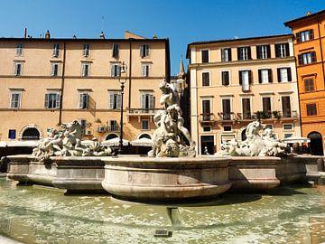 Neptunbrunnen, Rom