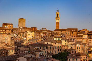 Siena Skyline van Dennis Eckert
