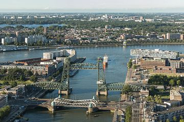 De Hef et Noordereiland à Rotterdam sur MS Fotografie | Marc van der Stelt