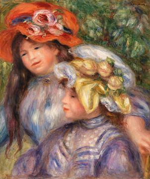 Renoir, zwei kleine Mädchen (1910)