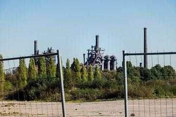 Verlassenes Fabrikgelände in Duisburg von Patrick Verhoef