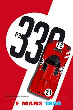 Ferrari 330 Lorenzo Bandini von Theodor Decker