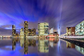 Blue Rotterdam von Ellen van den Doel