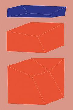 Minimalistische geometrie nr. 9