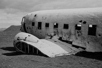 Isländisches Flugzeugwrack | Sólheimasandur | Schwarzer Strand von Floor Bogaerts
