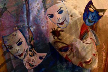 Spiel mit der Maske van Heidrun Carola Herrmann