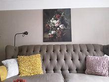 Kundenfoto: Stillleben mit Blumen - Harmanus Uppink von Hollandse Meesters