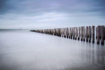 Paalhoofden in Zeeland sur