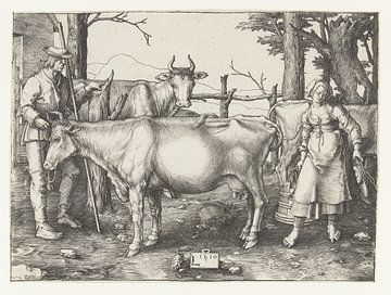 Das Milchmädchen, Lucas van Leyden