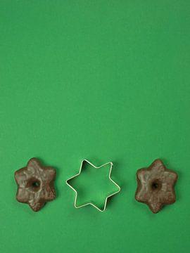 Peperkoek en ster van Katrin May