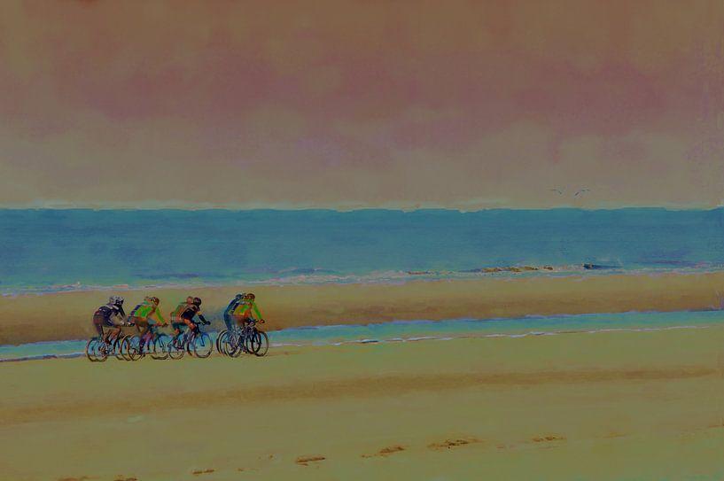 Focus strand van Frans Van der Kuil
