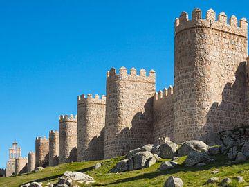 Stadtmauer von Avila von Katrin May