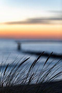 Nordseestrand bei Brouwersdam Zeeland von Rob van der Teen