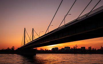Theodor-Heuss-Brücke Düsseldorf von videomundum