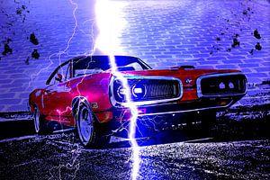 Fast car.