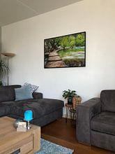 Photo de nos clients: Façons de se détendre VIII sur Daniela Beyer, sur toile
