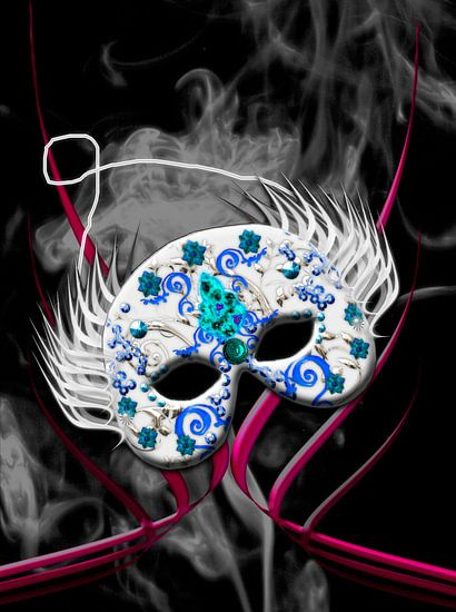 Maske van Rosi Lorz