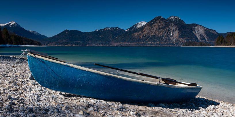 Ruderboot am Walchensee von Andreas Müller