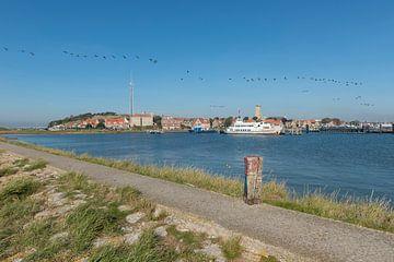 Haven van het eiland Terschelling van Tonko Oosterink