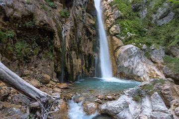 Wasserfall Tscheppaschlucht von Patrick Herzberg
