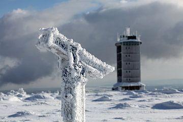 Winterimpressies van de Brocken (Harz) van t.ART