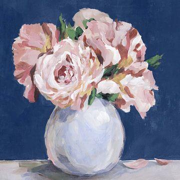 Süße Pfingstrosen in Vase, Isabelle Z  von PI Creative Art