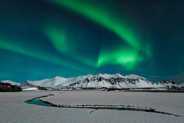 Aurora en Islande sur Ramon Stijnen