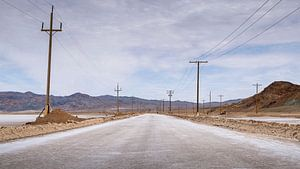 Salt plain road van