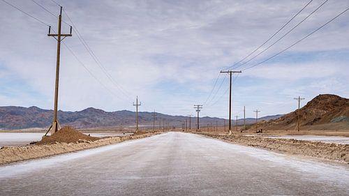Salt plain road