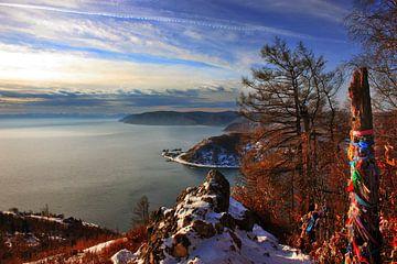 Ansicht von Baikalsee im Herzen von Sibirien von Amy van Loon