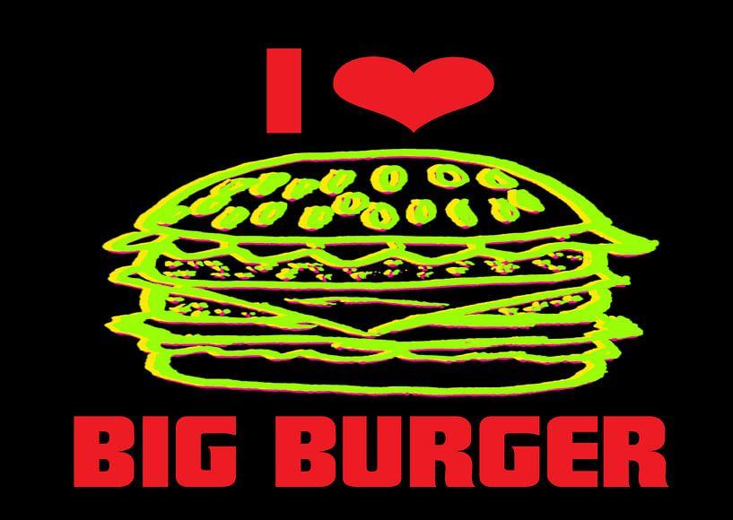 I like Big Burger van Rosi Lorz