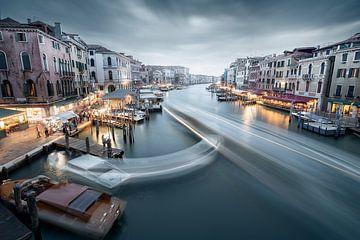 Rush Hour in Venedig von Florian Schmidt