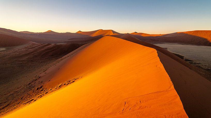 Zandduinen van Namibie van Peter Vruggink