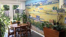 Kundenfoto: Die Ernte - Vincent van Gogh, auf fototapete