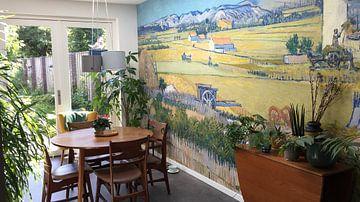 Kundenfoto: Die Ernte - Vincent van Gogh