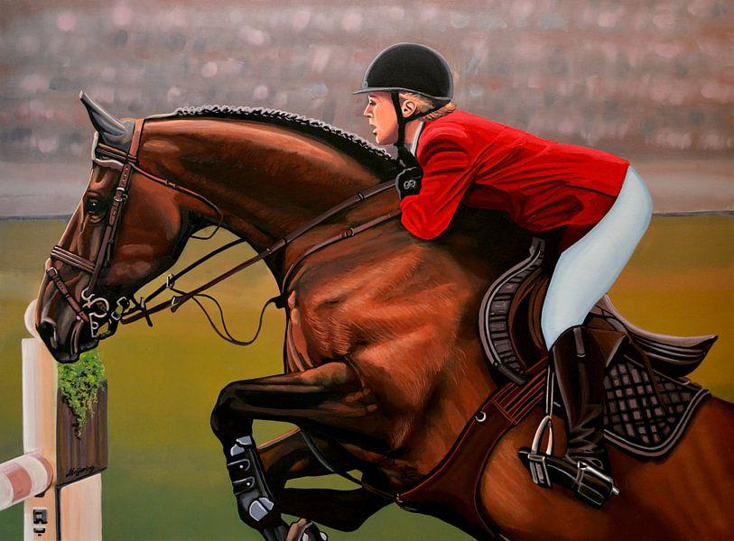 Meredith Michaels Beerbaum schilderij van Paul Meijering