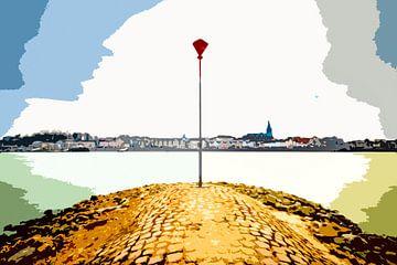 Skyline Nijmegen van Maerten Prins