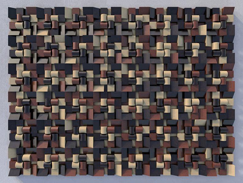 Reliëf N1 Chocola van Frans Blok