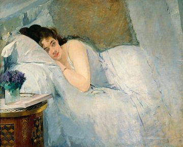 Mädchen beim Erwachen, Eva Gonzalès