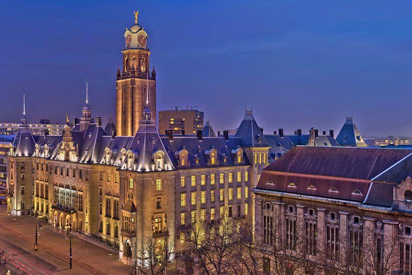 Rotterdam Stadhuis HDR van Bob de Bruin