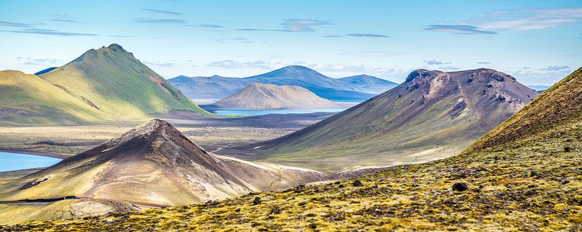 Landmannalaugar - vreemde planeet van Henk Verheyen