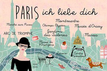Paris – ich liebe dich van Green Nest